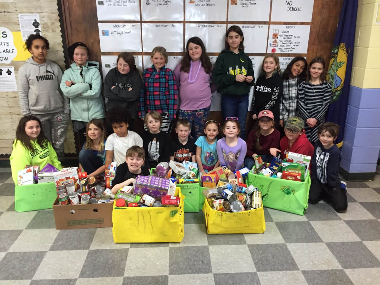 MES Winter Food Drive